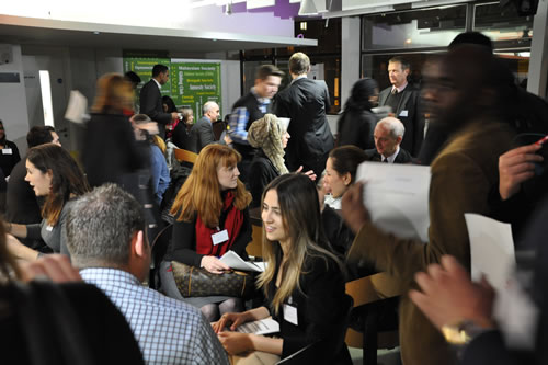 A networking event