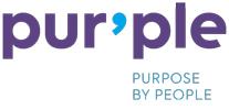 Pur'Ple Purpose by People logo