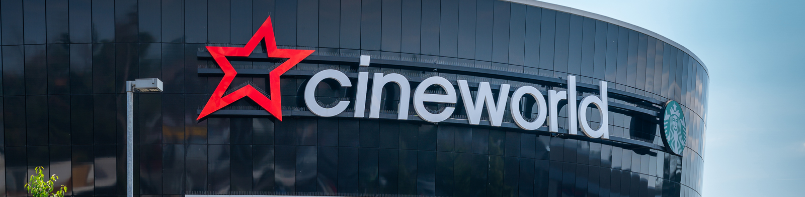 Front of a Cineworld cinema