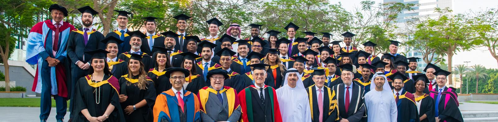 City, University of London's Dubai graduation