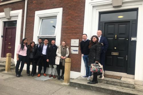 MBA consultancy trip to Dublin