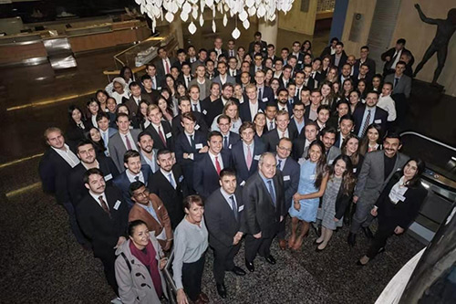Delegates at the 35th Anniversary of the Costas Grammenos Centre for Shipping, Trade and Finance combined with the 9th City of London Biennial Meeting