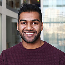 BSc Accounting and Finance student Ben Dharmanandan