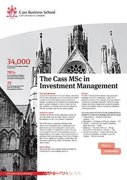 Investment Management factsheet