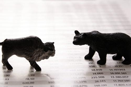 Stock Market Bull and Bear