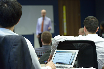 Learn more about the Executive MBA