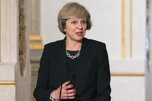 Theresa May. Article 50 Brexit