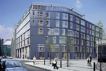 Artists impression of Bunhill Row building