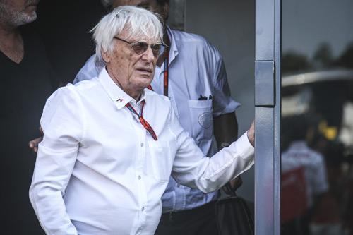 Bernie Ecclestone at Monza Grand prix, Italy, 3 September 2016. Formula1.