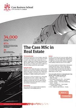 Real Estate factsheet