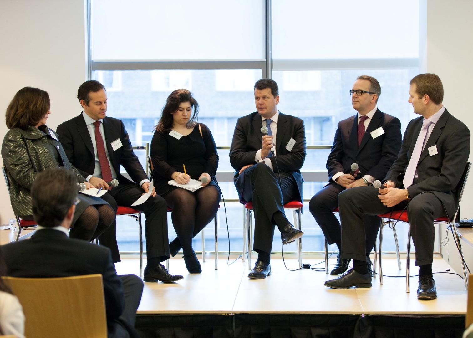 Outlook for M&A in 2013 Panel: Susan Kilsby, Hamilton Matthews, Anousha Sakoui, Stuart Upcraft, Robin Jowitt and Steve Allan