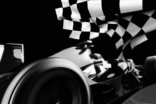 Formula 1 and the Chequered Flag